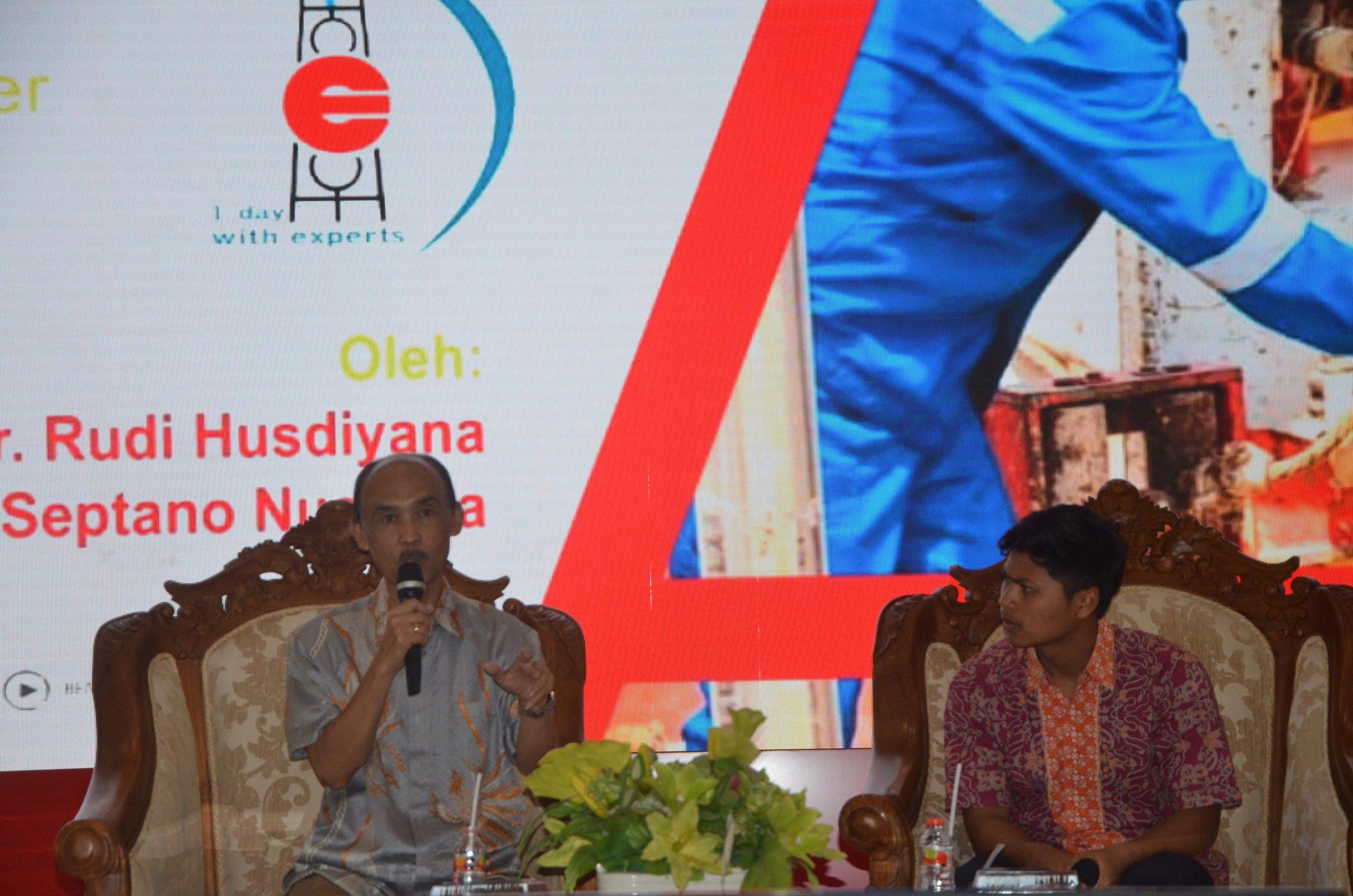 Kuliah Umum Bersama Rudi Husdiyana Dan Septano Nugraha, November 2019