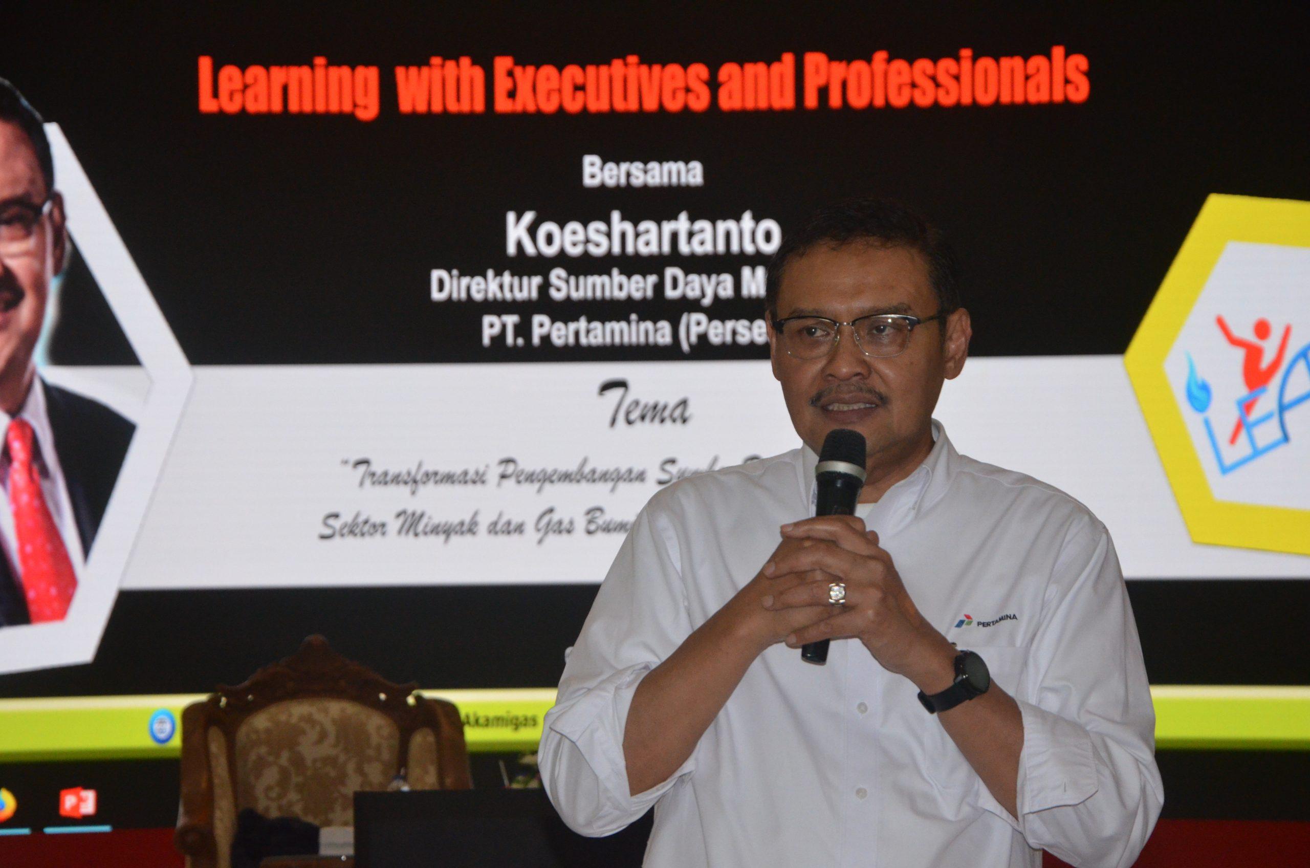 Learning With Executives And Professionals Bersama Koshartanto dari PT Pertamina, Agustus 2019